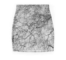 skeletal Mini Skirt