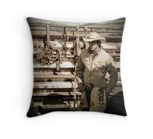 Helmville Rodeo Montana 2009 - #101 Throw Pillow