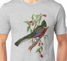The elegant trogon, trogon elegans Unisex T-Shirt