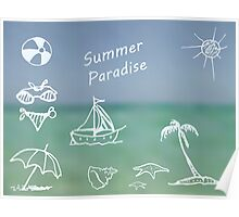Summer Paradise Poster