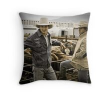 Helmville Rodeo Montana 2009 - #110 Throw Pillow