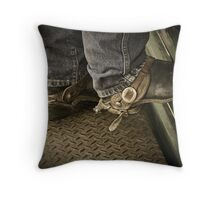 Helmville Rodeo Montana 2009 -  #114 Throw Pillow