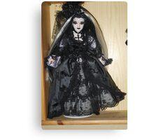 Gothic Doll Canvas Print