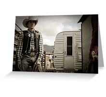 Helmville Rodeo Montana 2009 -  #128 Greeting Card
