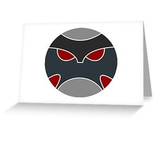 Krimzon Guard Emblem Greeting Card