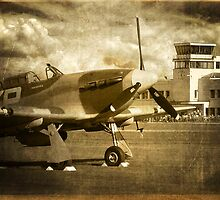 Waiting for the Scramble - 1940 by Colin  Williams Photography
