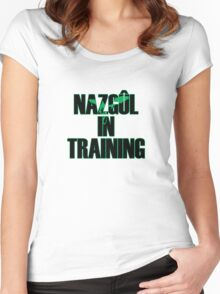 Wraith in Training Women's Fitted Scoop T-Shirt