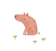 Sitting Pig by Sophie Corrigan