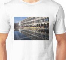 Venice, Italy - St Mark's Square Symmetry Unisex T-Shirt
