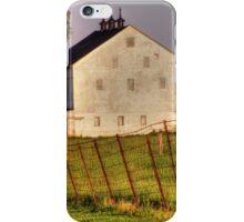 Big White Barn iPhone Case/Skin