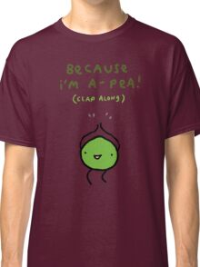 Happy Pea Classic T-Shirt
