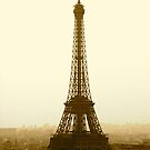 Eiffel in Sepia by Richard Pitman