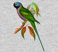 The Lord Derby's parakeet (Psittacula derbiana) Unisex T-Shirt