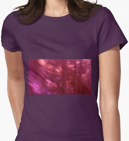 Back to the vivid forest n°9 Womens Fitted T-Shirt