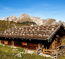 Alpine cottage by Klaus Offermann
