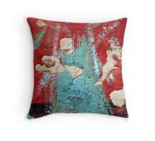 Krakatau Throw Pillow