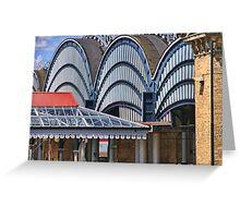 York Railway Station Greeting Card