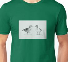 Eye spy series - G is for Geese Unisex T-Shirt