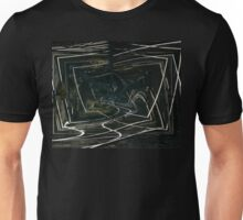 The Tracks Of My Fears Design Unisex T-Shirt
