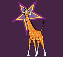 Surprised Giraffe Unisex T-Shirt