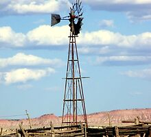 "Windmill, Corral....""Old West""....Real West by cjmetcalf"