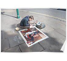 Street Artist Poster