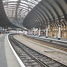 York Railway Station Curves by Kevin Bailey