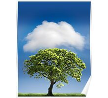 Cloud Cover Poster