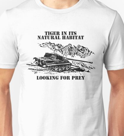 Tiger ll - Looking for prey Unisex T-Shirt