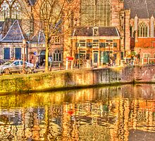 Oude Kerk by Katherine Maguire