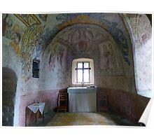 Väversunda Medieval Stone Church  Poster