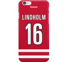 Carolina Hurricanes Elias Lindholm Jersey Back Phone Case iPhone Case/Skin