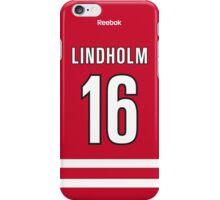 Carolina Hurricanes Elias Lindholm Jersey Back Phone Case iPhone Case/Skin