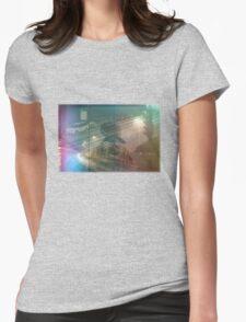 Night Rain Womens Fitted T-Shirt