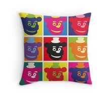 Andy Warhol style - Freddy  Throw Pillow