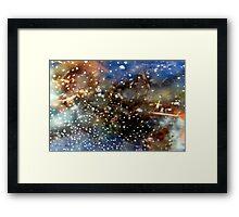 Celestial Storm Framed Print