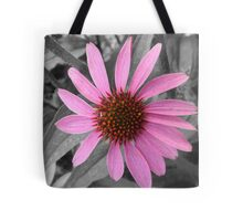 Pink Dog Daisy Wildflower Tote Bag