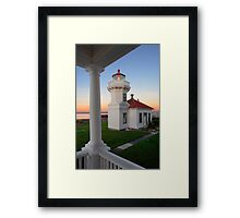 Mukilteo Beacon Framed Print
