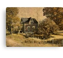 Our House is.... Canvas Print
