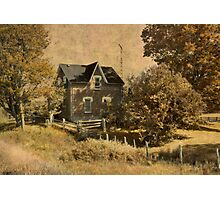 Our House is.... Photographic Print