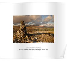 Whernside from Harry Hallam's Moss, Chapel-le-Dale, Ribblesdale, Yorkshire Dales Poster