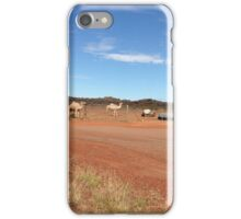 Camels near Leonora WA iPhone Case/Skin