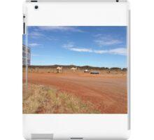 Camels near Leonora WA iPad Case/Skin