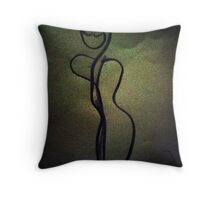 woman figure Throw Pillow