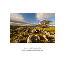 Limestone Pavement, Upper Winskill, Ribblesdale, Yorkshire Dales by James Paul