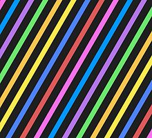 Colourful trippy stripes by PLdesign