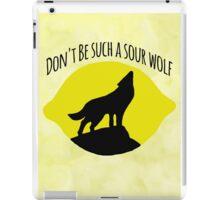 Sourwolf iPad Case/Skin