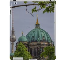 Germany. Berlin. Cathedral Domes and TV Tower. iPad Case/Skin