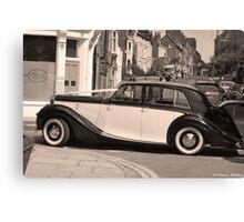 Bentley MK V Canvas Print