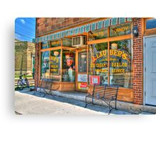 Ice Cream Parlor Canvas Print